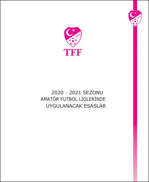 2018-2019 amatör futbol kitapçığı